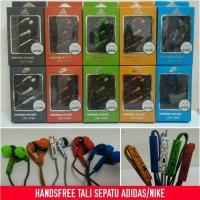 harga Handsfree / Headset Adidas Tali Sepatu Tokopedia.com