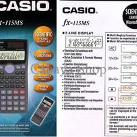 Casio Fx-115ms Kalkulator Ilmiah