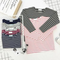 Sweater Blouse Baju Tangan Panjang Cotton Fashion Korea Atasan Baju