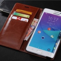 Wallet Case Leather Case Samsung Note Edge