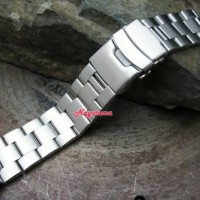 22mm Rantai Super Oyster For Seiko Skx007 Skx009 Solid Stainless Steel