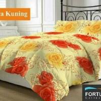 harga Sprei Katun Fortuna Diandra Kuning Ukuran 200x200 Tokopedia.com