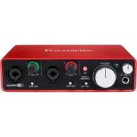 Focusrite Scarlett 2i2 (2nd Generation) - USB Audio Interface