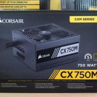 PSU Corsair CX750M Modular 80+ Bronze Certified