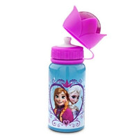 FROZEN ALUMUNIUM WATER BOTTLE DISNEY STORE