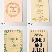 Notes untuk Souvenir Pernikahan custom isi