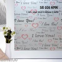 harga SUNBLAST / STIKER KACA / GLASS STICKER SB 026 (L 45CM X Panjang 2M) Tokopedia.com