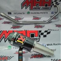 harga Knalpot Akrapovic Lorenzo GP M1 New Vixion Lighting Tokopedia.com