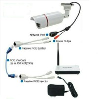 KABEL POE SPLITTER (PER SET) DIAMETER SIZE 5MM U/ IPCAM,CCTV DLL