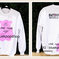 Sweater / Jumper Kpop SM TOWN World Tour Logo