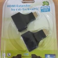 HDMI Extender Max 30M over Kabel Lan RJ45