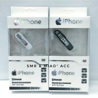 Handsfree Earphone Headset Bluetooth Apple Iphone 4 5 6 7 Plus Ipad