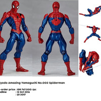 harga Kaiyodo Amazing Yamaguchi Spiderman Marvel Original Revoltech Tokopedia.com