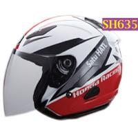 Helm Honda Half Face HRR KYT Ukuran M L XL - SH635