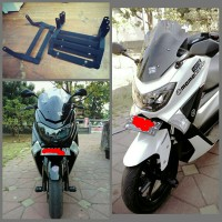 Dudukan / Pangkon Plat Nomer yamaha Nmax Racing style