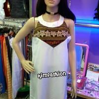 atasan wanita dress halter  casual dress   maxi dress   batik songket