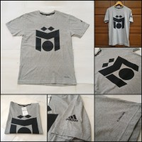 Kaos adidas Mesut Ozil Basic Grey (T-Shirt adidas Custom)