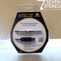 Behringer Guitar 2 Usb Recording / Rekaman Gitar & Bass to Pc