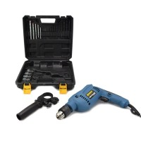 IMPACT DRILL KRISBOW 13MM 500W (21PC) 10064703