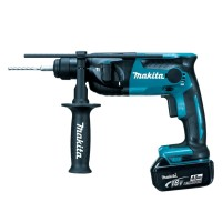 Rotary Hammer With Led 16mm / 18v Makita DHR 165 RME