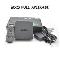 android tv box MXQ Quadcore Android TV Box full APLIKASI / SIAP PAKAI
