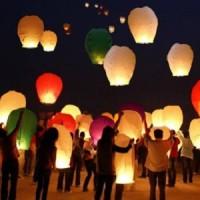 Jual Lampion Terbang - Sky Lantern Lentera - New Year - ULTah - Pesta Murah