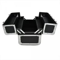 kotak kosmetik artis / koper box kosmetik / tempat kosmetik hitam