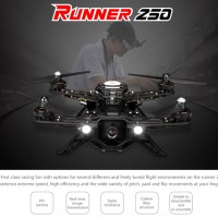 Drone quadcopter RC Walkera Runner 250 Basic 3 RTF FPV Racing
