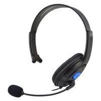 Jual HuntGold Gaming Headset Headphone with Vol Control for Playstation 4 Murah