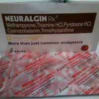 Neuralgin RX obat penghilang nyeri / obat vitamin syaraf