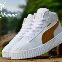 harga Big Diskon ! Sepatu Wanita Casual Import Puma Rihanna Tokopedia.com