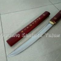 harga Pedang samurai / Tanto Shirasaya / Shirasaya Red Kanji Tokopedia.com