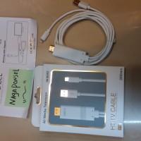 Kabel Hdtv Iphone 7/7plus + / 5/6s / 6plus + Ipad Cable Lightning Hdmi