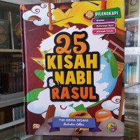 Buku anak, 25 Kisah Nabi dan Rasul - Hard Cover