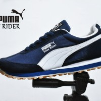 harga Sepatu Sport Puma Easy Rider Grade Ori / Biru Navy / kets casual Tokopedia.com