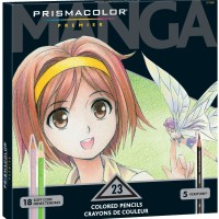 Prismacolor Premier Manga Colors 23 Colored Pencils Sets