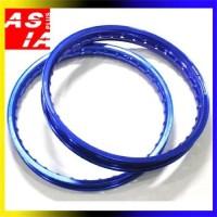 harga VELG RACING AKSESORIS MOTOR SCT 160 140 RING 17 WR BLUE Tokopedia.com