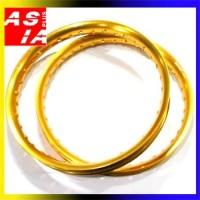 harga VELG RACING AKSESORIS MOTOR SCT 160 140 RING 17 U SHAPE GOLD Tokopedia.com