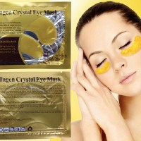 Gold Eye Crystal Collagen Mask | Masker Mata