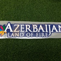 ATLETICO MADRID AZERBAIJAN LAND OF FIRE SPONSOR PRINTING