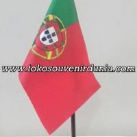 Bendera Meja Negara Portugal Buat Pajangan Kantor dan Rumah