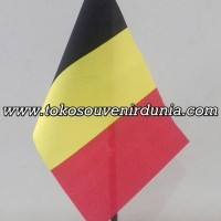 Bendera Meja Negara Belgia Buat Pajangan Kantor dan Rumah