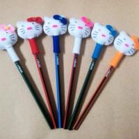 Pensil Hias Hello Kitty Flanel
