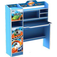 Meja Belajar Anak Karakter Hot Wheels Car SD 21210 HWL