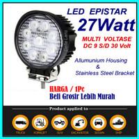 Lampu tembak lampu sorot LED mobil motor 27watt spot light offroad