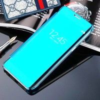 Samsung Galaxy S7 EDGE Smart Flip Slim View Mirror Hard Case