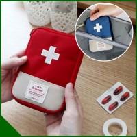 Tas Dompet Tempat Obat Pil Mini Kit Traveling FIRTS AID PUNCH (GN211)