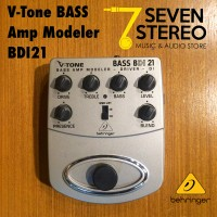 Behringer Bdi21 Bass Preamp Stompbox With Di Recording Out [ Bdi 21 ]