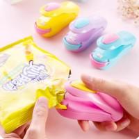 handy mini sealer perekat plastik elektrik dengan batrai