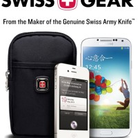 Jual Case HP Armband Outdoor Sport Hiking Swiss Army Gear Sarung Carabiner Murah